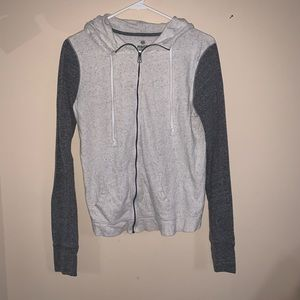 Light zip up hoodie